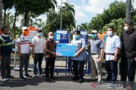 PT Timah serahkan instalasi cuci tangan ke Pemkot Pangkalpinang