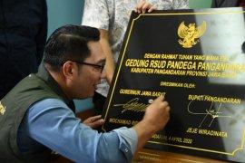 Gubernur: RSUD Pandega Pangandaran harus siap layani pasien COVID-19