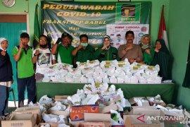PPP Belitung salurkan sembako untuk warga terdampak COVID-19