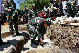Disaksikan Gubernur Gorontalo, markas Komando Kodim mulai dibangun di Boalemo