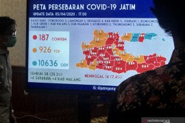 Gubernur: Ponorogo dan Bondowoso masuk zona merah COVID-19 di Jatim