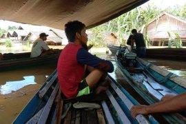 Ratusan rumah terendam banjir di pedalaman Barito Utara