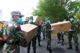 Bantuan APD COVID-19 untuk Kalbar