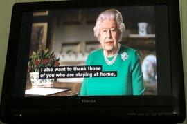 Ratu Inggris Elizabeth berterima kasih kepada pekerja kesehatan