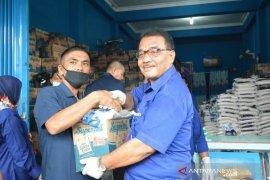Delmeria bagikan 3.000 paket sembako bagi warga Sibolga terdampak COVID-19