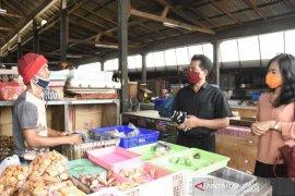 K3S Kota Denpasar bagikan masker ke sejumlah pasar