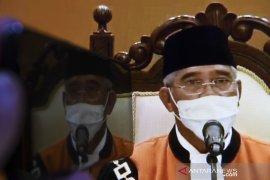 Mahfud MD ucapkan selamat ke Syarifuddin terpilih Ketua MA