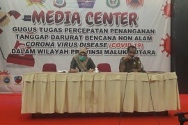 ODP COVID-19 di Malut 374 orang