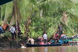Perahu Alifa Tobindo rute Tembilahan-Guntung karam. Ini penyebabnya