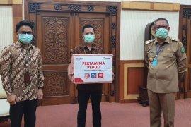 Pertamina Kalbar berikan bantuan APD disejumlah rumah sakit tangani COVID-19