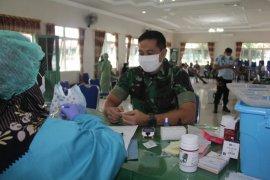 Stok darah minim, Kodim 1008/Tanjung laksanakan donor darah