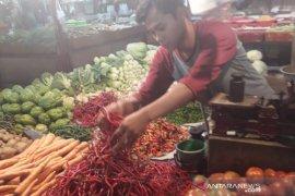 Harga cabai di 29 pasar Bogor turun signifikan