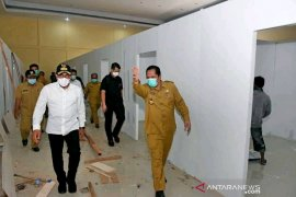 Pemerintah sediakan ruangan Medis penanganan COVID-19 di Padangsidimpuan