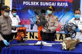 Polisi ringkuspencuri di Aceh Timur