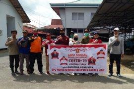 Gerindra bantu pemerintah cegah COVID - 19 di Kapuas Hulu