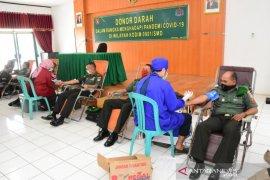 Korem 091/ASN Gelar Donor Darah Atasi Kekurangan Stok Darah