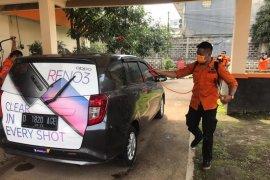 Gojek Jabar-Banten jalankan program sanitasi hingga sembako untuk mitra