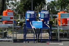PT Timah libatkan UMKM Babel produksi 300 instalasi cuci tangan