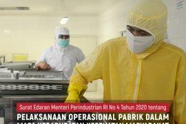 Menperin terbitkan surat edaran operasional pabrik