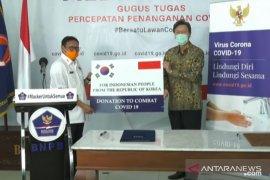 """Anggap Indonesia """"teman sejati"""", Korsel kirim bantuan alat tes COVID-19"""
