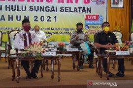 Musrebang Kabupaten HSS melalui Vicon dari enam tempat