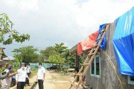 Tiga desa di Deli Serdang terdampak angin puting  beliung