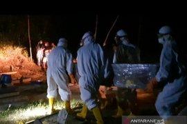 Jenazah PDP di Belitung dimakamkan sesuai SOP COVID-19