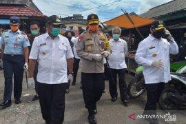 Gubernur-Kapolda Babel tinjau Pasar Tanjung Pandan