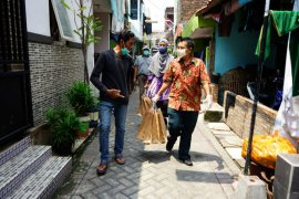 Pendistribusian makanan ODP dan PDP di Surabaya dilakukan secara tertutup
