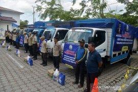 Distribusi sembako untuk warga terdampak COVID-19