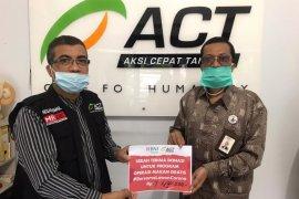 BNI Syariah Banda Aceh salurkan 260 paket makan gratis
