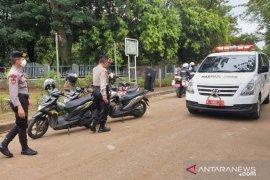 Polisi telah kawal pemakaman 34 jenazah terpapar COVID-19 di Jakarta
