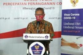 Total kasus positif COVID-19 di Indonesia 3.293 kasus dan 252 pasien sembuh