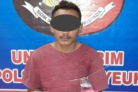 Asyik isap sabu, seorang mahasiswa diringkus polisi di Aceh Timur