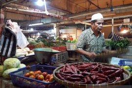 Harga kebutuhan pokok di Cianjur stabil, tingkat penjualan menurun