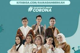 Kolaborasi delapan penyanyi dangdut galang dana lawan corona