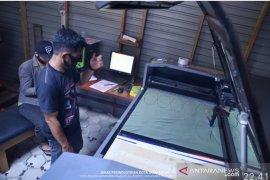 Perusahaan digital printing di Samarinda beralih memproduksi masker
