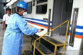 PT KAI Sumut wajibkan  penumpang pakai masker mulai 12 April