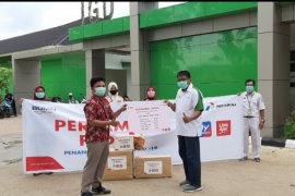 Pertamina berikan bantuan APD ke RSUD dan Puskesmas Sungai Durian
