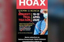 Polisi sudah ungkap 101 kasus informasi hoaks COVID-19 di medsos