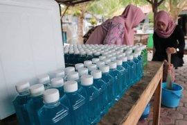 Begini sabun cair racikan tim penggerak PKK Aceh Timur