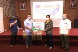 Bank Aceh syariah serahkan bantuan sembako untuk masyarakat terdampak COVID-19