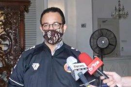 Anies : Penertiban pelanggar PSBB hari pertama persuasif