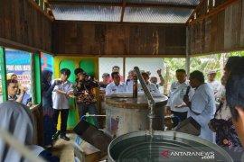 Lapsus Hari Jadi Kabupaten Balangan ke 17 - Pemerintah terus berupaya tingkatkan kualitas karet Balangan