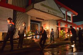 Kebakaran Lapas Tuminting-Manado dipicu napi narkoba minta dibebaskan