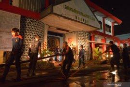 Kebakaran Lapas Tuminting dipicu napi narkoba yang minta dibebaskan