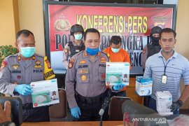 Pencuri ribuan masker Dinkes Kalteng  petugas kebersihan
