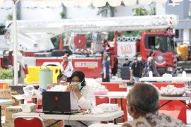 Wali Kota Surabaya pilih berkantor di Posko Penanganan COVID-19