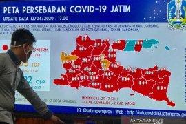 69 pasien dinyatakan sembuh dari COVID-19 di Jatim