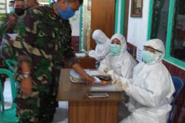 "150 Satgas TMMD Kodim Buleleng ikuti ""rapid test"" COVID-19"